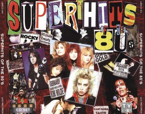 Super Hits Of The 80s 4CD (1997)
