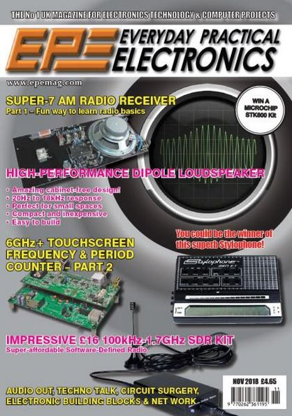 Everyday Practical Electronics №11 (November 2018)