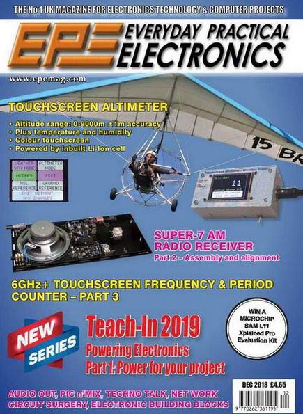 Everyday Practical Electronics №12 (December 2018)