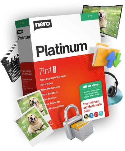 Nero Platinum 2020 Suite 22.0.02400 + Content Pack