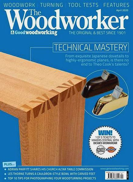 The Woodworker & Good Woodworking №4 (April 2020)