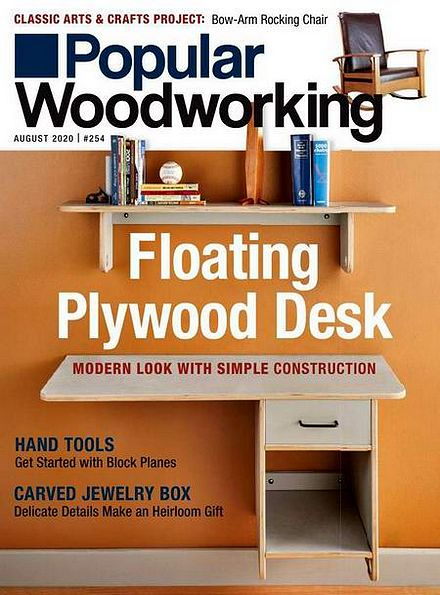 Popular Woodworking №254 (August 2020)