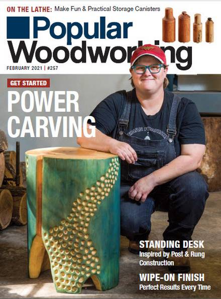 Popular Woodworking №257 (February 2021)