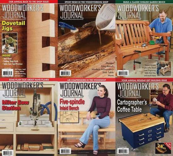 Woodworker's Journal. Архив 2020