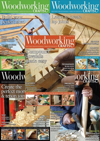 Woodworking Crafts №53-57 (2019)