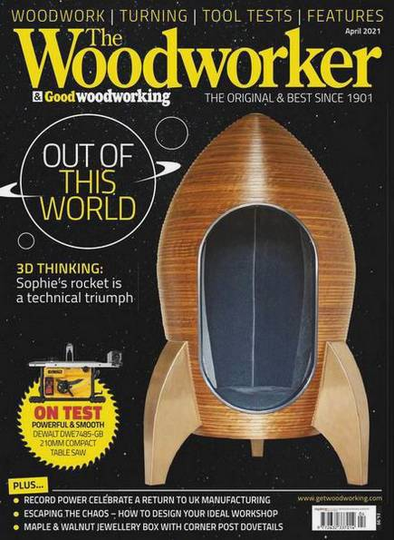 The Woodworker & Good Woodworking №4 (April 2021)